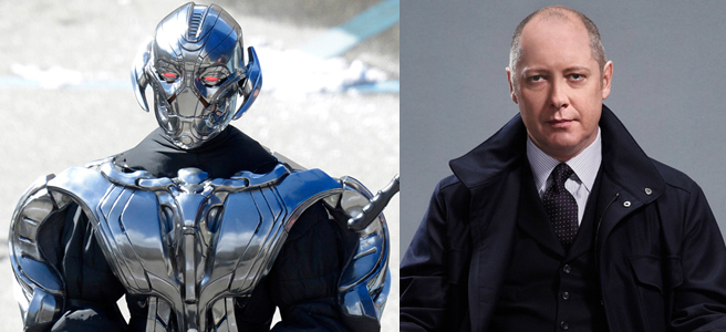 "James Spader interpreta Ultron nel secondo capitolo di ""The Avengers"""