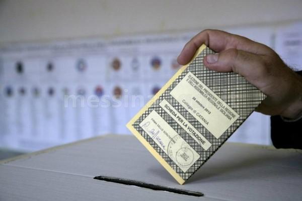 fotografia scheda elezioni europee