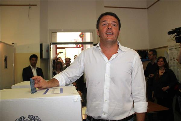 renzi voto europee
