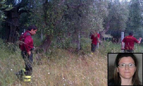 I vigili del fuoco cercano la 37enne Antonella Scirocco