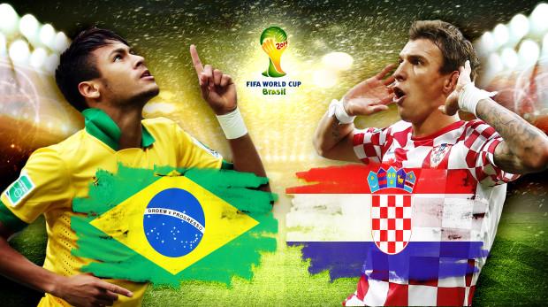 mondiali brasile croazia