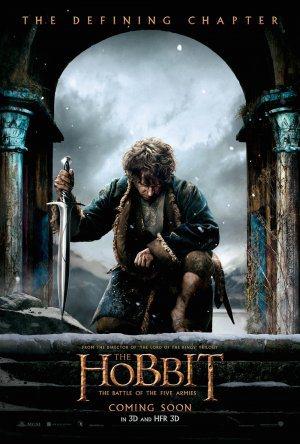"""La locandina ufficiale del terzo capitolo de """"Lo Hobbit"""""""