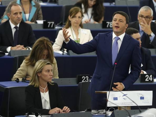 renzi europa