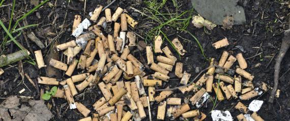 Cigarette waste