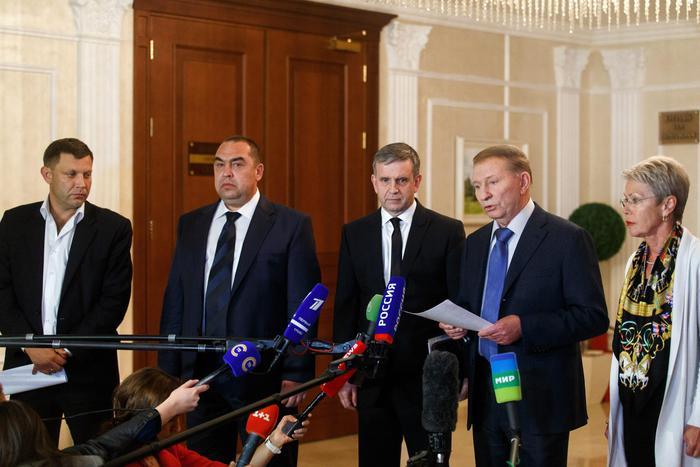 Ukrainian Peace talks in Minsk