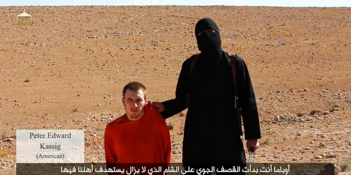 ISIS: SI TEME PER VITA KASSIG, IL VETERANO CONVERTITO ALL'ISLAM