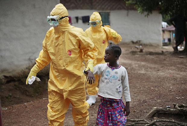 ebola contagio