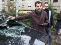 Matteo Salvini aggressione Bologna