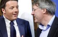 """Renzi: """"Schierati dalla parte dei più deboli"""". Landini: """"Indifferenza del governo alle proteste"""""""