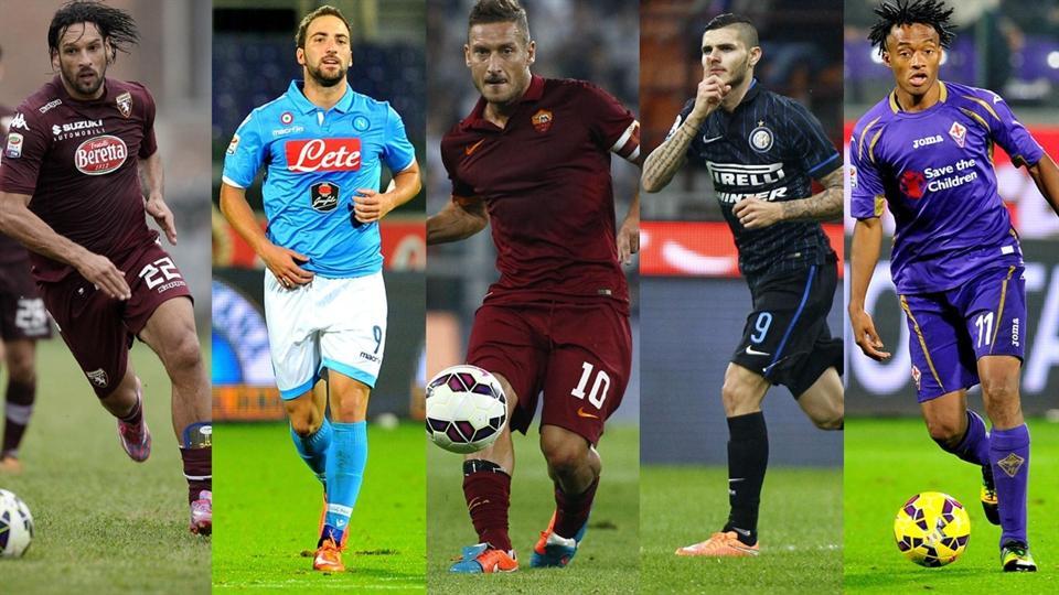 Le cinque squadre italiane in Europa League