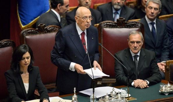 Napolitano presidente della repubblica