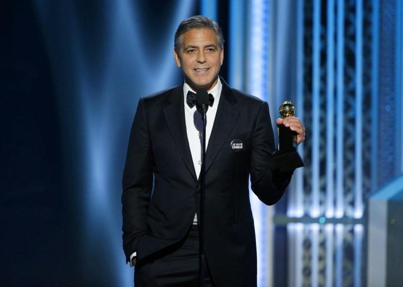 George Clooney premiato ai Golden Globes
