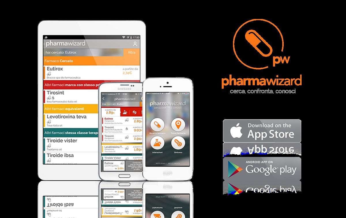 Pharmawizard, la nuova app