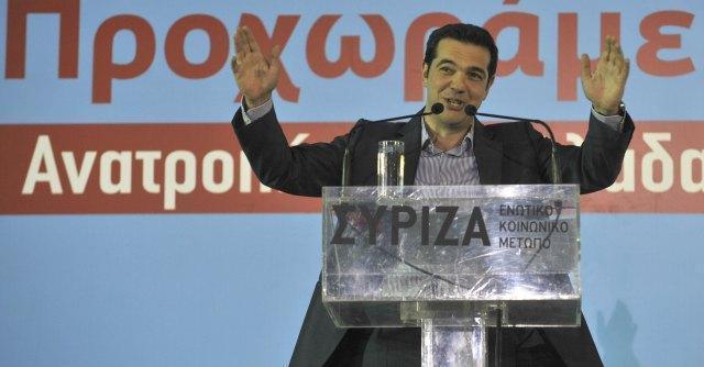 tsipras elezioni