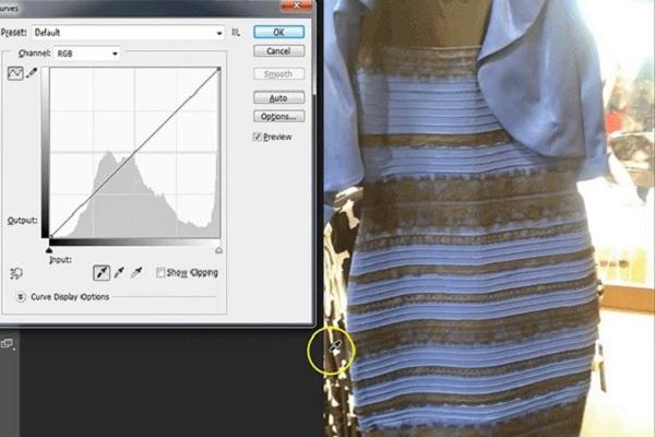 """4e27867b330b ... questione approda sui social da Tumblr e la domanda che tutti si sono  posti tra la giornata odierna e quella di ieri è  """"Di che colore è questo  vestito"""