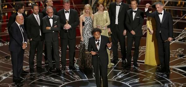 """Il cast di """"Birdman"""", trionfatore agli Oscar"""
