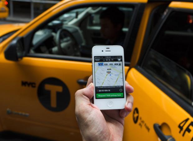 Taxisti contro Uber