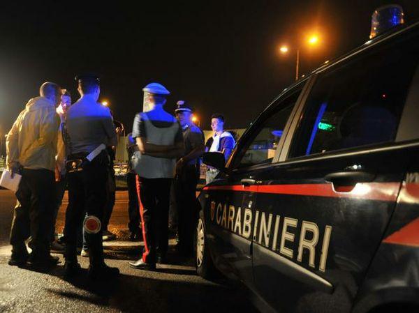 carabiniere stupro