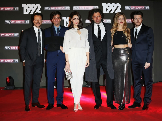 "Il cast di ""1992 - La Serie"" sul red carpet"