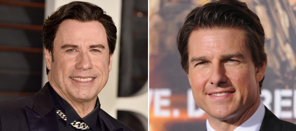 John Travolta e Tom Cruise