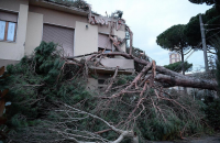 Maltempo e vento a 100 km/h. Due morti, schiacciati da albero e masso