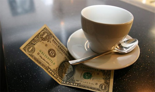 Cameriera riceve mancia da 200 dollari