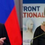Putin e Marine Le Pen