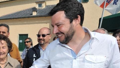 Salvini commenta il naufragio