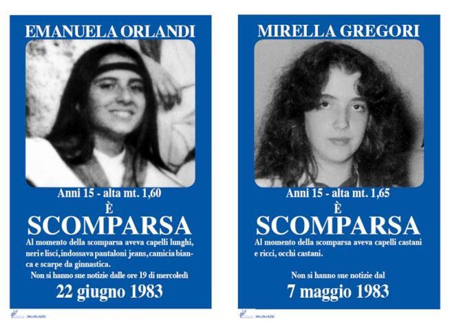 Emanuela Orlandi e Mirella Gregori