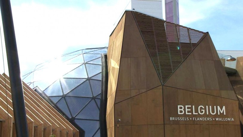 Expo, il padiglione del Belgio