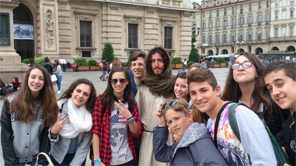 Gesù a spasso per Torino