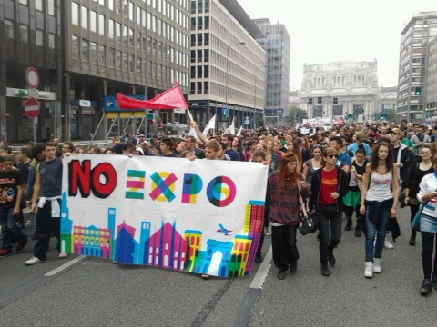 Manifestazione No Expo