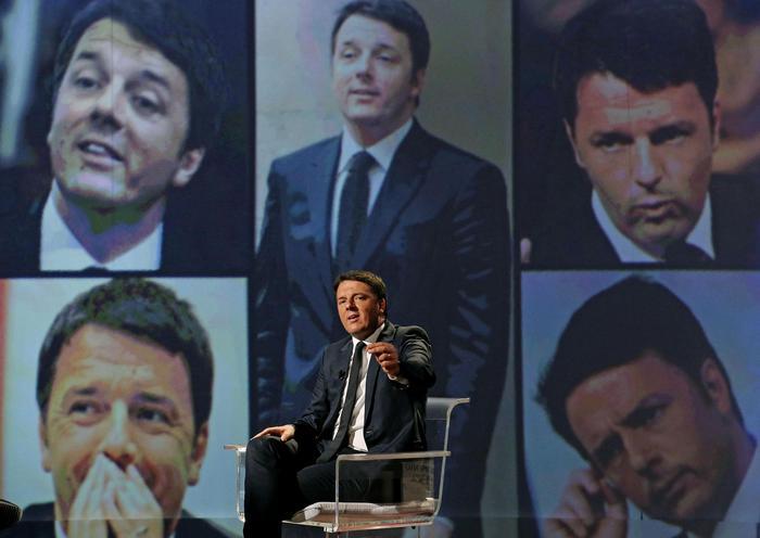 Matteo Renzi a L'Arena