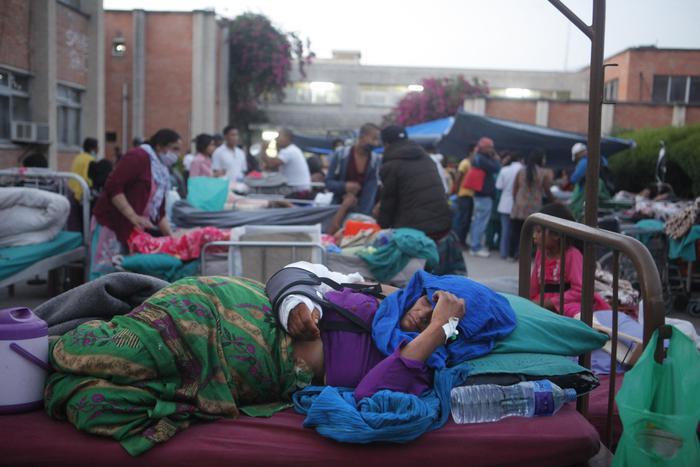 Scossa in Nepal