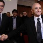 Stefano Caldoro e Vincenzo De Luca