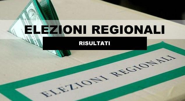 regionali risultati