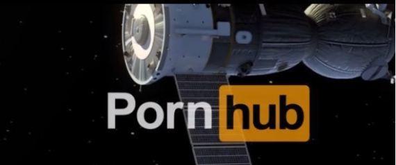 Pornhub nello spazio