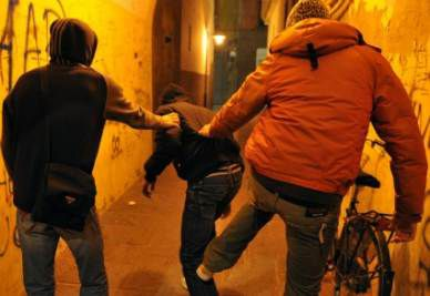 Studente picchiato