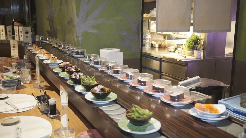 ristorante sushi e carne