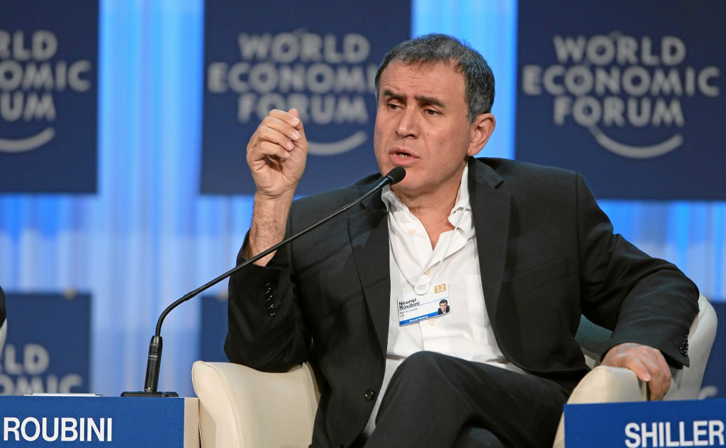 Grexit Roubini