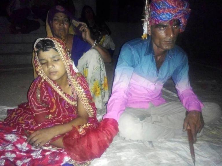 La sposa bambina e il marito