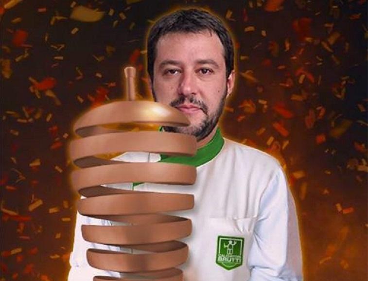 Matteo Salvini vince la Falafel Cup