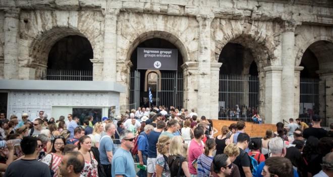 Colosseo chiuso