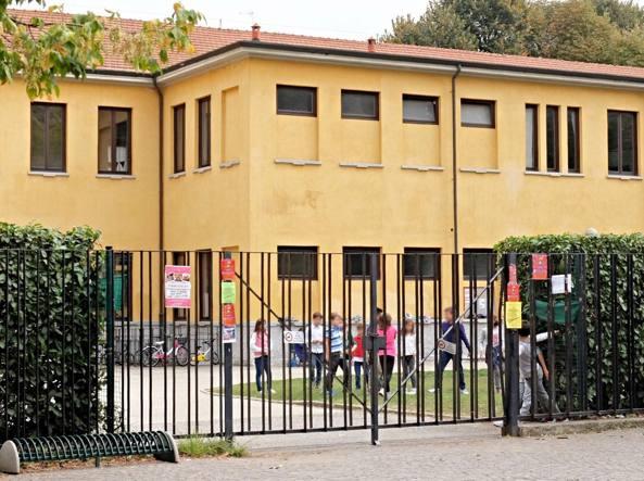 L'istituto Porta-Agnesi da cui è scappata la bambina