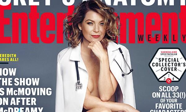 La star di Grey's Anatomy Ellen Pompeo