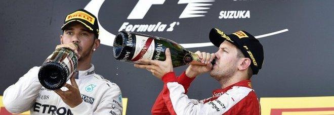 Lewis Hamilton vince GP del Giappone