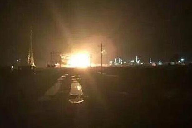Esplosione nello stabilimento chimico-industriale Cina
