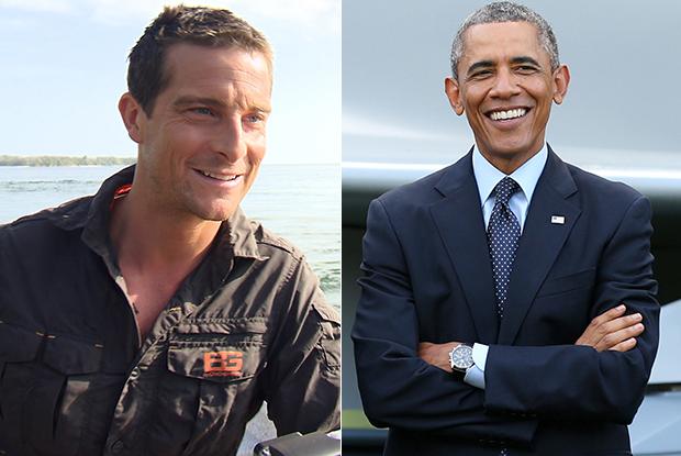 Obama protagonista del reality di Bear Grylls