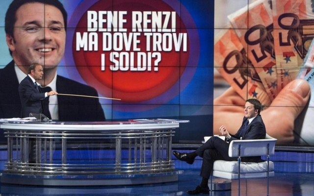 Renzi interviene sulle pensioni