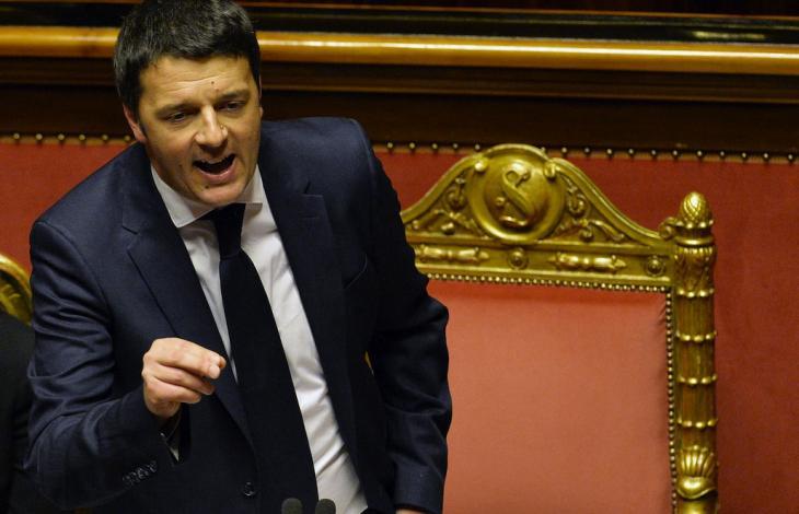 Renzi riforma senato
